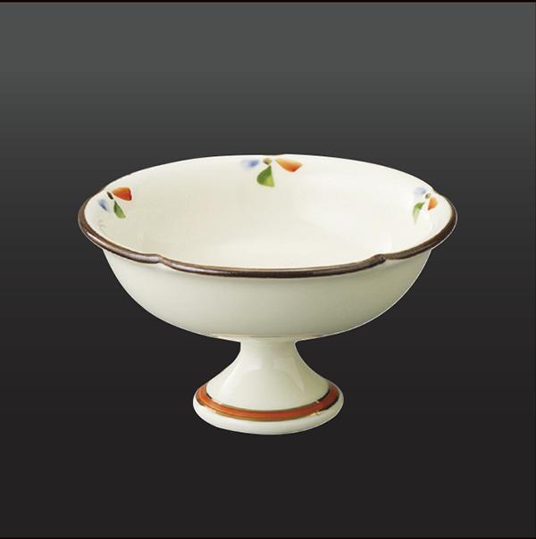 品 番:1011100002 商品名:小花ちらし 馬上杯型小鉢 サイズ:114×H65