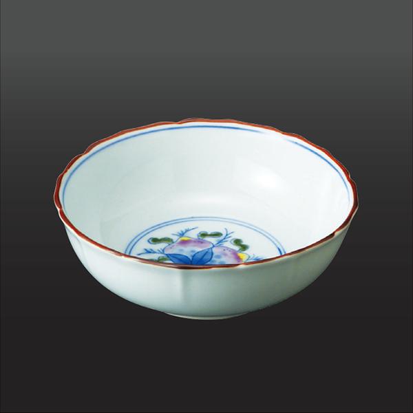 品 番:1011100005 商品名:桃 小鉢 サイズ:128×H46