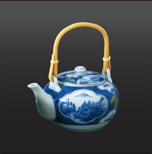 品 番:1011010001 商品名:桐木甲山水 土瓶 サイズ:122×158×H97