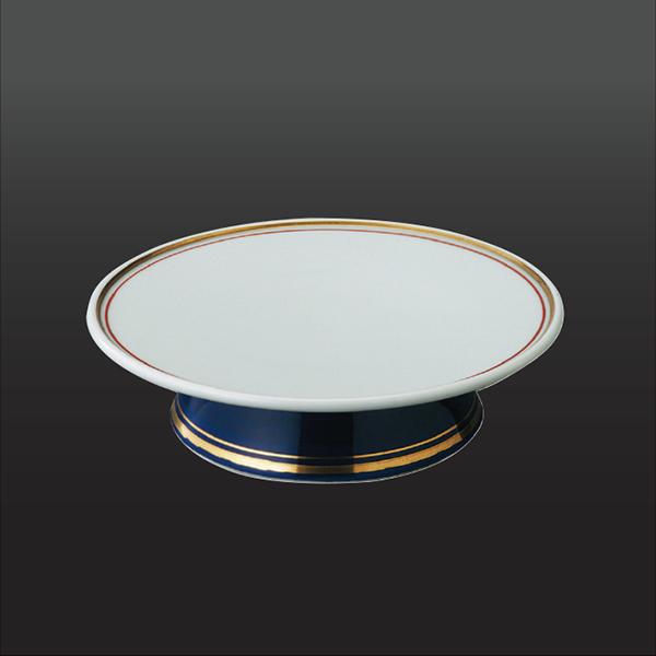 品 番:1011110005 商品名:白夜 高台フルーツ皿 サイズ:155×H43