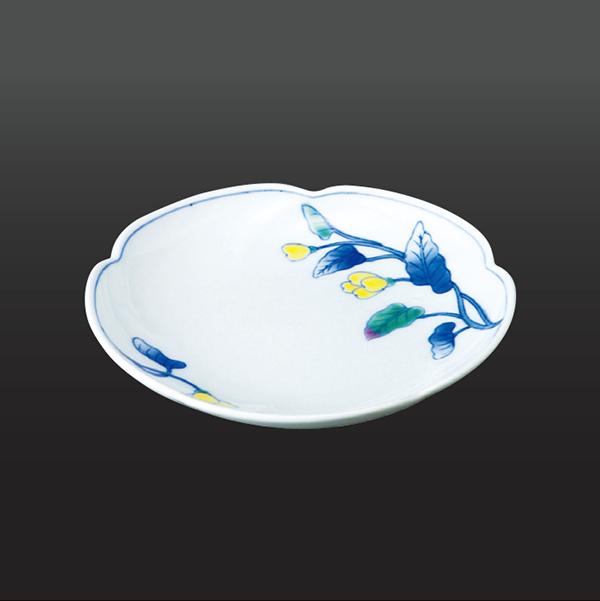 品 番:1011130006 商品名:黄花 銘々皿(1 客) サイズ:139×H26