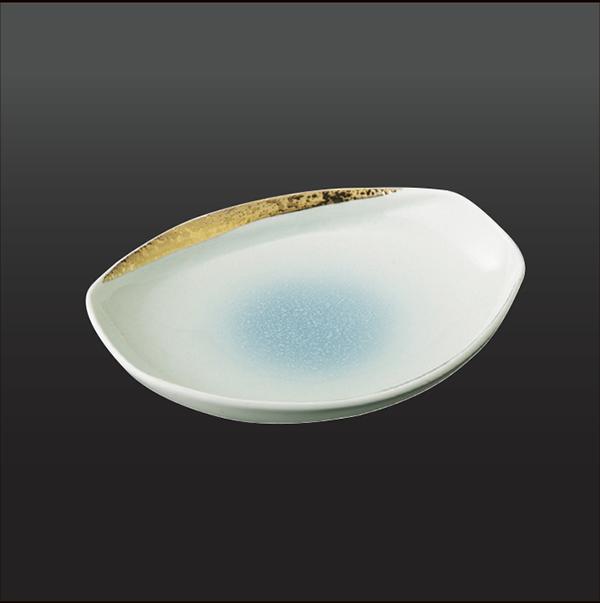 品 番:1011150002 商品名:金銀彩 焼皿 サイズ:181×152×H36