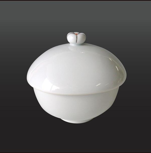 品 番:1011190001 商品名:一輪花 楕円蒸し碗 サイズ:98×89×H87