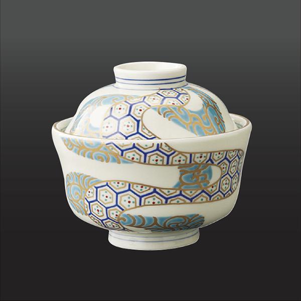 品 番:1011200005 商品名:流水亀甲紋 小蓋物 サイズ:105×H85