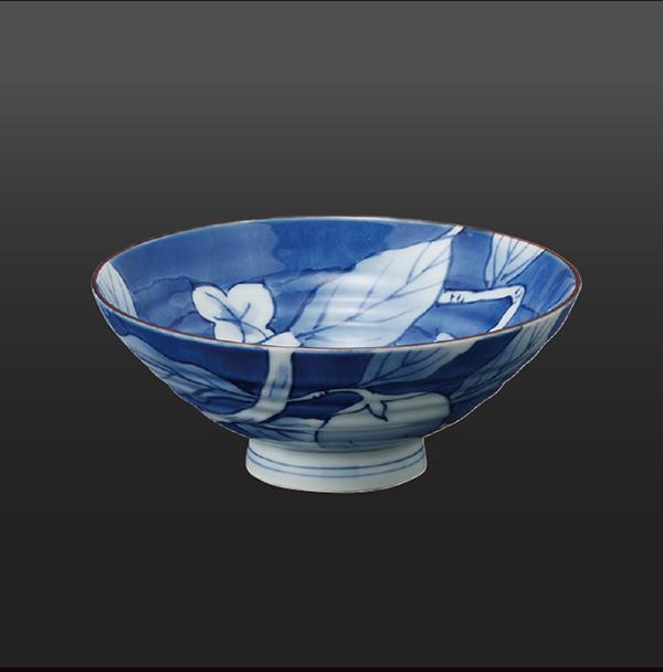 品 番:1011020007 商品名:濃なす 飯碗(小) サイズ:125×H48