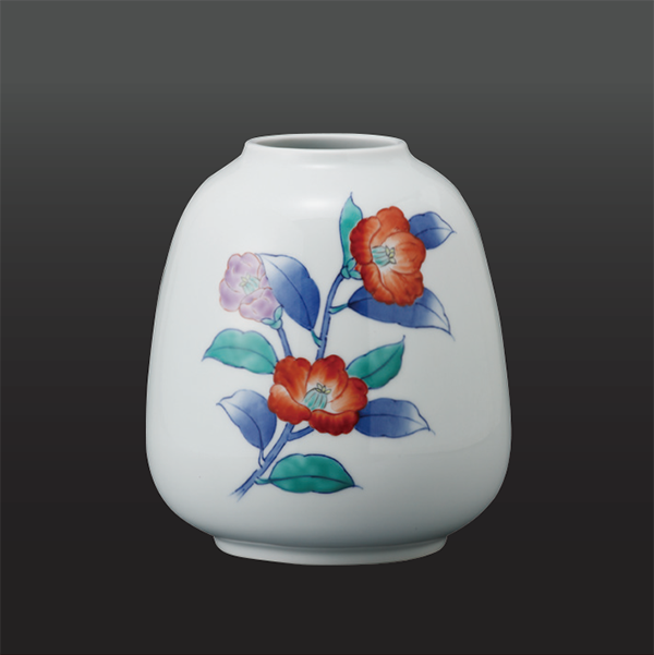 品 番:1011210006 商品名:つばき 小花瓶 サイズ:170×H180