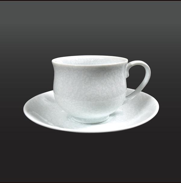 品 番:1011030010 商品名:ピアニー(デュードロップホワイト) サイズ:皿139×H 碗65
