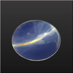 品 番:1541140001 商品名:7.5寸反プレート皿呉須釉金ライン サイズ:233×233×H42