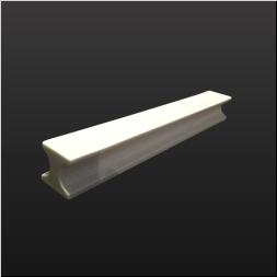 品 番:1541110003 商品名:H型8寸前菜皿 白釉 サイズ:265×34×H34