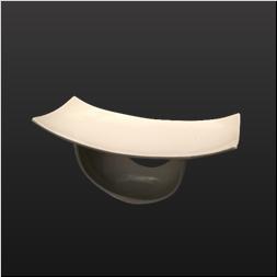 品 番:1541110005 商品名:灯篭型前菜鉢 薄白釉 サイズ:180×75×H85
