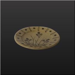 品 番:1031130004 商品名:絵唐津豆皿 サイズ:90×H18