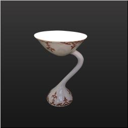 品 番:1541110007 商品名:カクテル杯 錦瓔珞 サイズ:95×95×H143