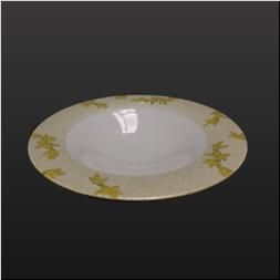 品 番:1061140003 商品名:山吹釉レンギョウ新丸皿 サイズ:240×H30