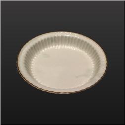 品 番:1541070011 商品名:三ッ足菊彫6.5寸向付 定窯縁足朱 サイズ:195×195×H52