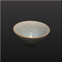 品 番:1061080003 商品名:釉吹きコバルト渕金すり鉢小中付 サイズ:97×H51