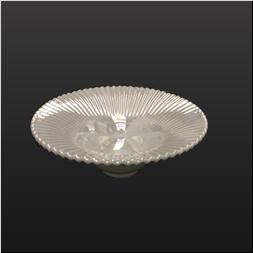 品 番:1061110001 商品名:白磁パール蛇の目鉢 サイズ:165×H63