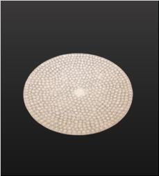 品 番:1071140002 商品名:モザイクプレート19cm(ホワイト) サイズ:φ190×H21